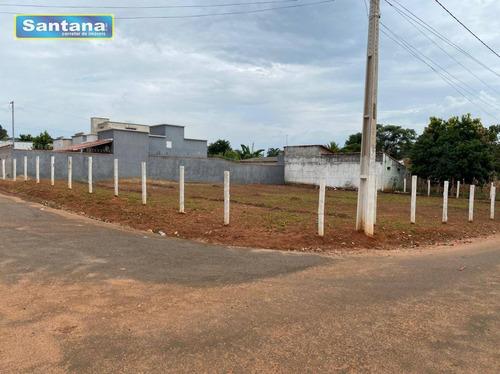 Terreno À Venda, 897 M² Por R$ 180.000,00 - Portal Das Águas Quentes - Caldas Novas/go - Te0227