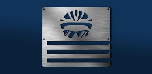 Imagen 1 de 6 de Medallero Helmet Ciclismo Personalizado Gratis
