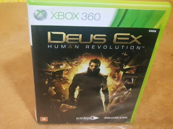 Deus Ex Human Revolution Usado Xbox 360 Midia Fisica