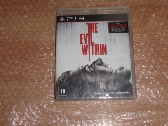 The Evil Within - Ps3 - Lacrado De Fábrica - Versão Nacional