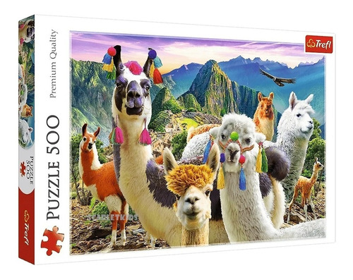 Puzzle Rompecabezas 500 Piezas Llamas En La Montaña