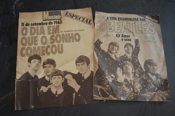 Beatles Amor E Sexo Especial Encartes Manchete Revista