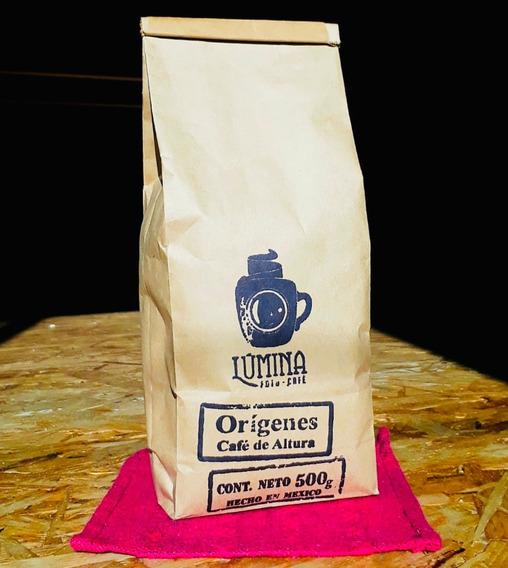 Cafe Lumina Origenes Arabica Molido Bolsa 500 Gramos