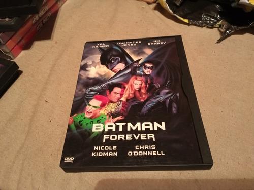 Imagen 1 de 3 de Batman Forever Dvd 1° Edicion Usa Caja Cartón Original Gusx
