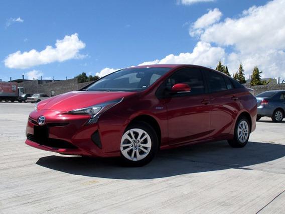 Toyota Prius Premium Ta 2017 Rojo