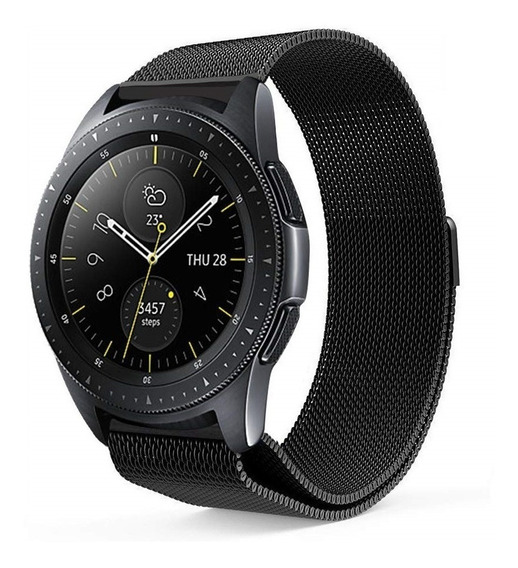 Pulseira Samsung Galaxy Watch 42mm Metal Milanesa + Película