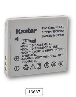 Bateria Mod. 13687 Para Digital Ixus 70 75 80 Is I7