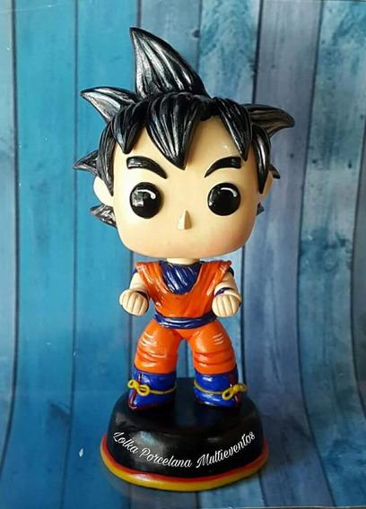 Figura Dragon Ball Estilo Funko Pop