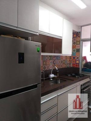 Apartamento Com 3 Dormitórios À Venda, 60 M² Por R$ 338.000 - Tatuapé - São Paulo/sp - Ap1046