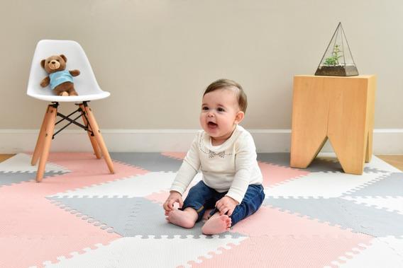Alfombra De Goma Eva Multiply Mini Baby Encastrable Bebés