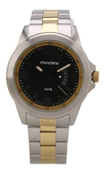 Relógio Masculino Mondaine 78700gpmvba2 Cromado De Vltrine