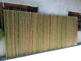 Cañas. Bambu Tacuara Pergola Cerco Decoracion.