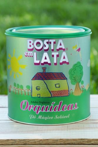 Fertilizante Orgânico Bosta Em Lata Orquídeas - 1,8 Kg