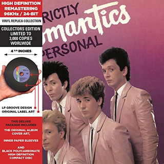 Cd : The Romantics - Strictly Personal (cd)