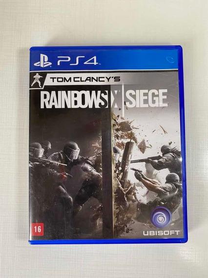 Rainbow Six Siege - Ps4 - Mídia Física
