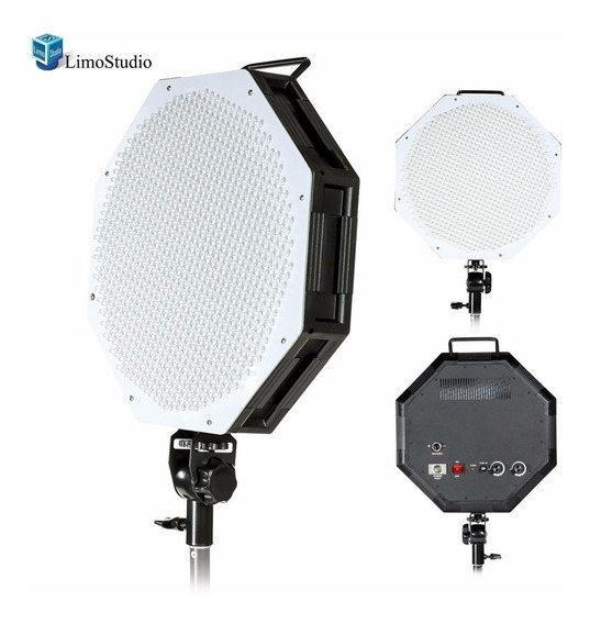 Lampara Leds Octagonal 36cm Foto Video Studio Octagon Panel
