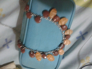 Collarr Marron Y Naranja