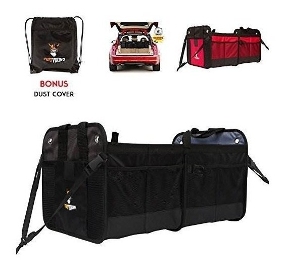 [new W/ Straps] Car Trunk Storage Organizer With Straps By T