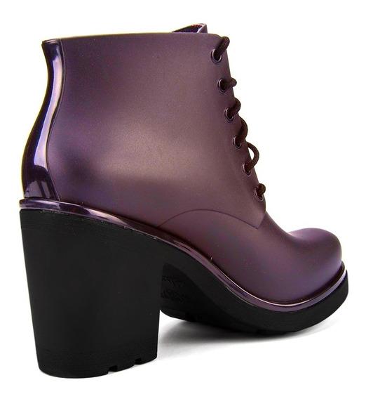 Bota Ankle Boot Coturno Ale By Cherry Boa Onda