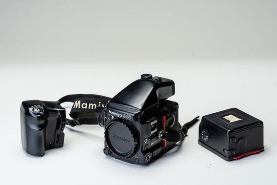 Mamiya 645 Pro Tl + 70mm 2.8 Com Obturador Central