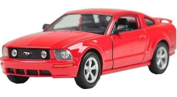 Ford Mustang Gt 2005 Welly Nex Auto Coleccion Escala 1/24