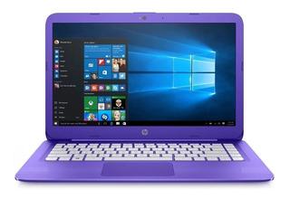 Notebook Hp Stream 14 Dualcore Violeta