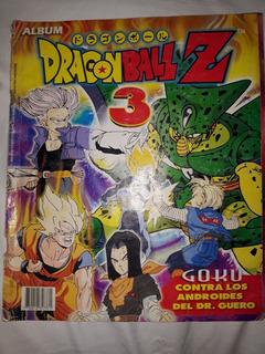 Ealbum Antigua Dragonball Z ( 3 ) 1998 215 Figus Completo