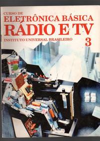 Revista Curso De Eletrônica Básica Rádio E Tv (antiga) 14 Re