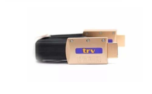 Imagen 1 de 6 de Cable Trv Hdmi 3.0 M Full Hd 1080 / 3d 4k