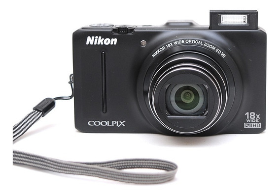 Nikon S9300 + Bag E Cartão = S9100 S9200 Sony Canon Fuji