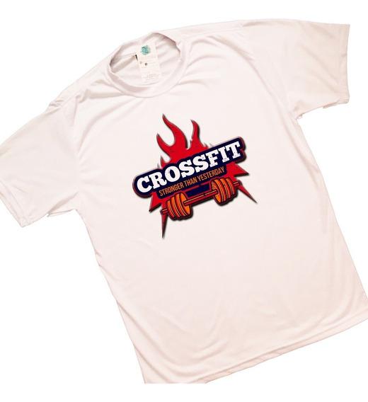 Camiseta Camisa Masculina Blusa Feminina Crossfit Fitness Academia Treino No Pain No Gain Musculação