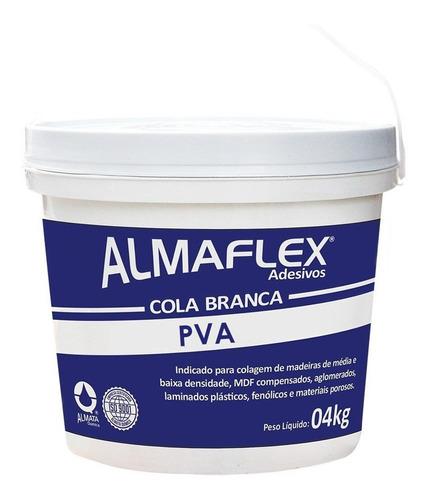 Imagem 1 de 1 de Cola Branca Para Marcenaria Madeira Mdf Formica Extra 4kg