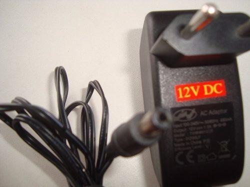 Fonte 12v Plug P4 2a Cftv , Dvd , Tv , Rec. Em Geral