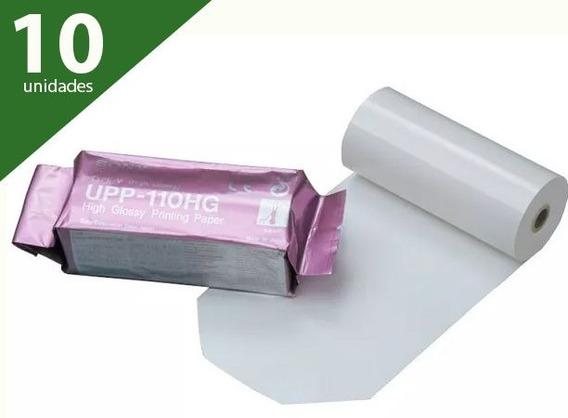 Papel Upp 110hg (kit Com 10 Unidades) - Sony