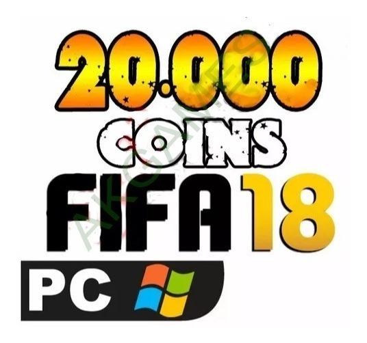 Fifa 18 Coins 20.000 20k Pc