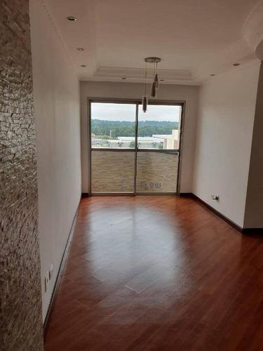 Apartamento 65m², 3 Dormitorios,  2 Vagas - Vila Guarani (z Sul) - Ap11691