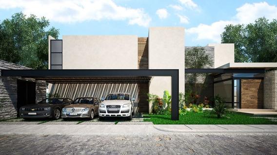 Residencia De Lujo En Privada Exclusiva Al Norte De Mérida Yucatán