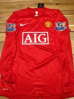 Camisa Manchester United Premier League 2008
