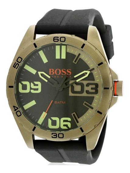 Reloj Hugo Boss Orange Silicon Negro 1513287