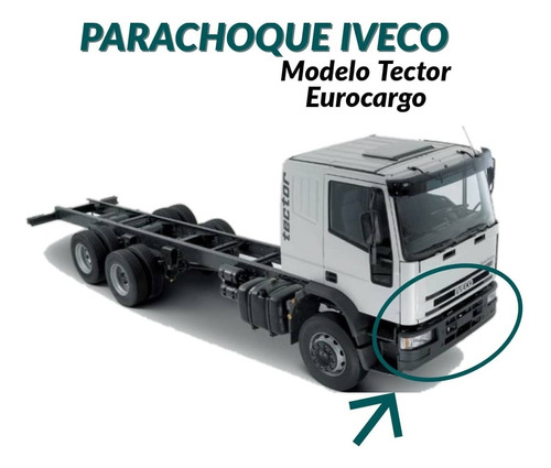 Parachoque Para Camion Iveco Modelo Tector Modelo Original