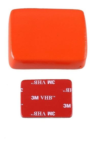 Bóia Flutuante + Adesivo 3m Floaty Gopro Hero 1 2 3 4 5 6