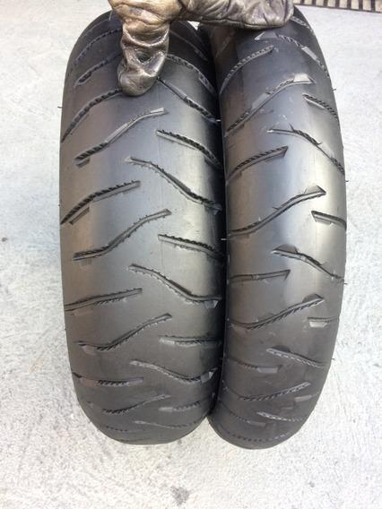 Pneus 120/70/19 E 170/60/17 Michelin Anakee 3 Usado Bmw Gs
