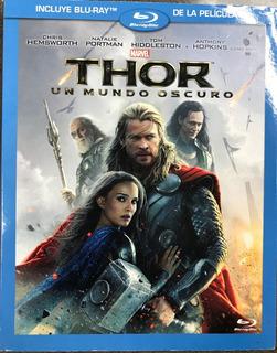 Blue Ray Pelicula Thor Un Mundo Oscuro