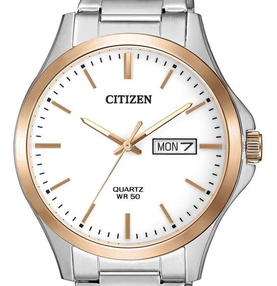 Reloj Hombre Citizen Bf2006-86a Cuarzo Linea Casual
