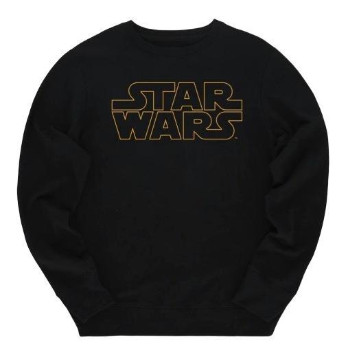Star Wars Logo Pullover Hombre