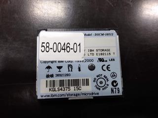 Cartao Compact Flash Microdrive Ibm 512mb Dscm-10512