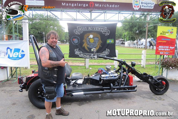 Triciclo Motor Frontal V 8 Motor 318