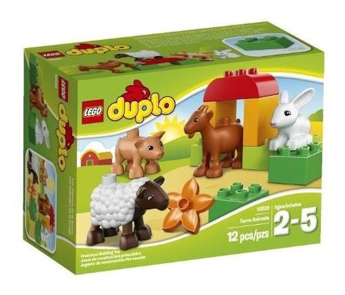 Juego De Construccion Lego Duplo Ville Farm Animals 10522