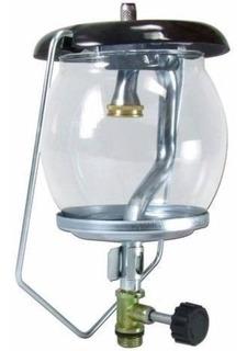 Lampião A Gás C/ Vidro Temperado (e De Brinde 2 Camisa)