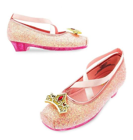 Sapato Princesa Aurora Original Disney Store P/entrega